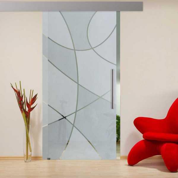 Sliding Glass Barn Door SGD-ALU100-0202