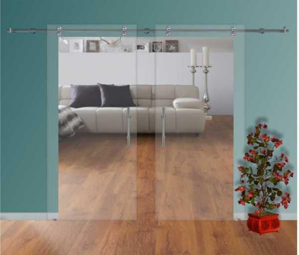 Sliding Glass Barn Door SGD-V2000-0008 non-private