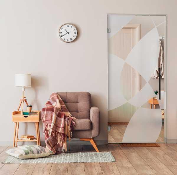 Swing Glass Door (Model SD-0170 Semi-Private)