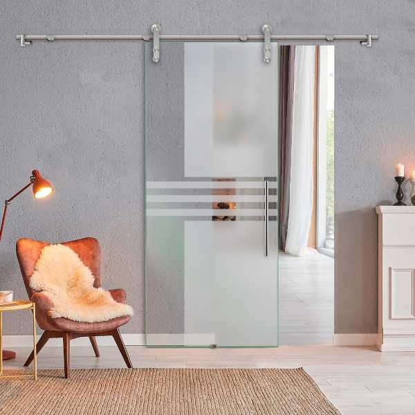 Sliding Glass Barn Door SGD-V1000-0220