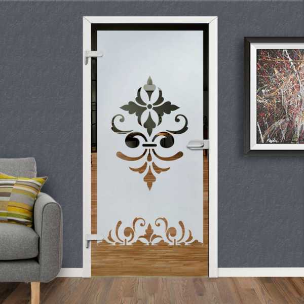 Hinged Glass Door HGD-H+H-0091 (Semi-private)