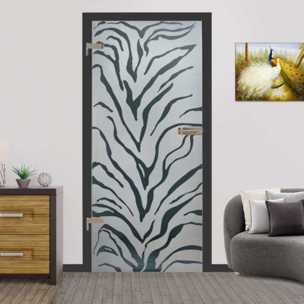 Hinged Glass Door (Model HGD-H+H-0022 Semi-Private)