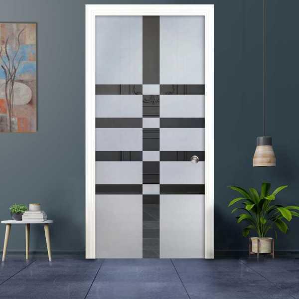 Pocket Glass Barn Door (Model PSGD-0038 Semi-Private)