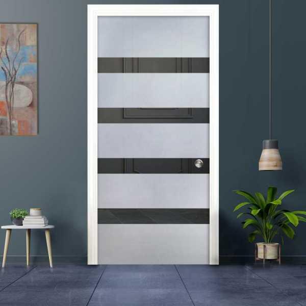 Pocket Glass Barn Door (Model PSGD-0017 Semi-Private)