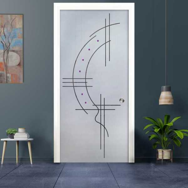 Pocket Glass Barn Door (Model PSGD-0030 Semi-Private)