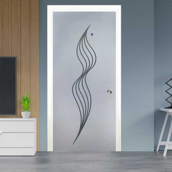 Pocket Glass Barn Door (Model PSGD-0015 Semi-Private)