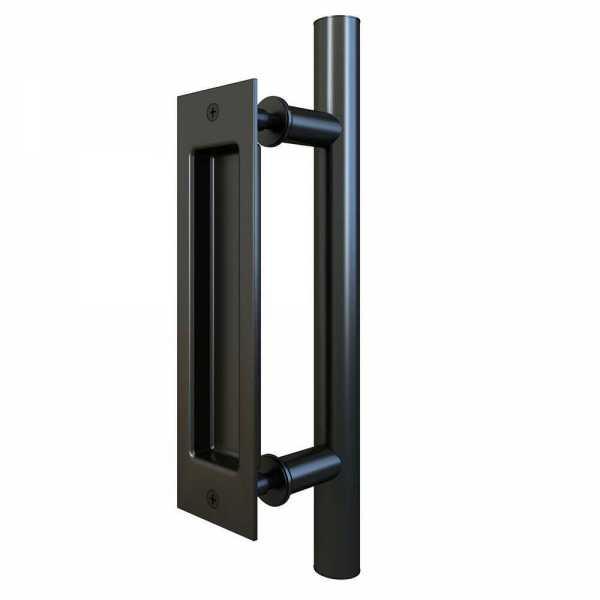 12 Inch Carbon Steel Handle for Wood Doors