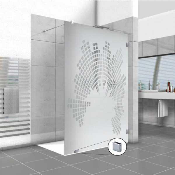 Frameless Fixed Shower Glass Panel FSS-0032