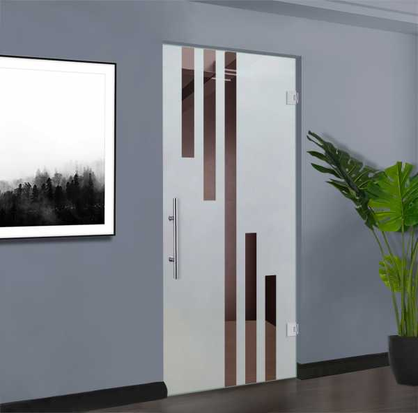 Swing Glass Door (Model SD-0163 Semi-Private)