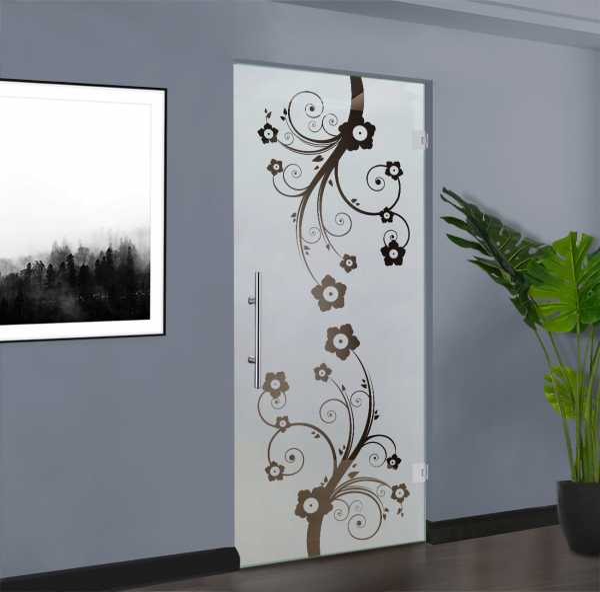 Swing Glass Door (Model SD-0051 Semi-Private)
