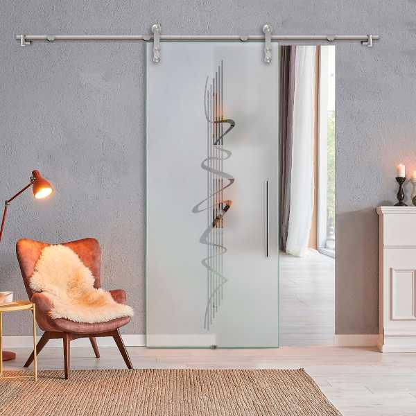 Sliding Glass Barn Door SGD-V1000-0162